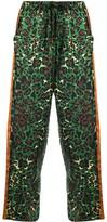 Pierre Louis Mascia Adanastr leopard-print silk trousers