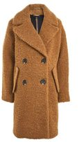 Topshop Alicia boucle slouch coat