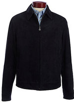 Murano Perforated Suede Jacket