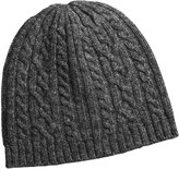 Auclair Cable-Knit Beanie Hat - Merino Wool (For Women)
