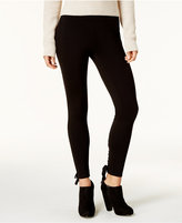 American Rag Juniors' Lace-Up Leggings, Created for Macy's