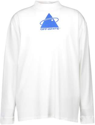 Off-White Off White Triangle Planet t-shirt