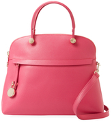 Furla Piper Medium Leather Dome Satchel