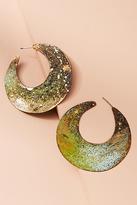 Sibilia Waning Moon Hoop Earrings