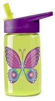 Crocodile Creek Eco Kids Butterfly Flip Straw Drinking Bottle.