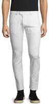 Pierre Balmain Distressed Skinny Jeans