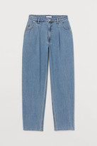 H&M Tapered High Jeans - Blue