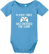 Sod Uniforms Player 3 has entered the game Onesie Funny Bodysuit Baby Romper