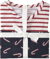 Joe Fresh Kid Girls' Print Henley Sleep Set, Off White (Size S)