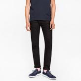 Paul Smith Men's Slim-Fit 12oz 'Super Black' Stretch-Denim Jeans