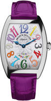 Franck Muller Ladies Color Dreams Curvex Watch with Alligator Strap
