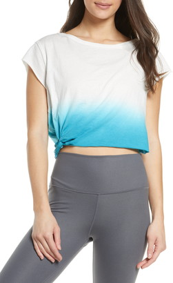 Free People FP Movement Hold it Down Dip Dye T-Shirt
