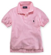 Ralph Lauren Boys' Solid Mesh Polo - Sizes S-XL
