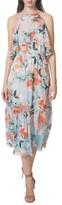 Donna Morgan Women's Print Midi Dress