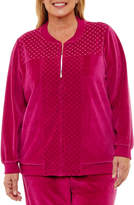 Alfred Dunner Royal Jewels Quilted Jacket-Plus