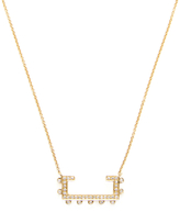 14K Yellow Gold & 0.20 Total Ct. Diamond Remi Florence Necklace