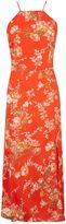 Topshop Eastern Floral Midi Slip Dress