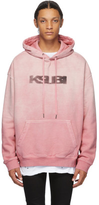 Ksubi Pink Sign of the Times Hoodie