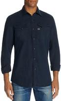 G Star Tacoma Slim Fit Snap Front Shirt