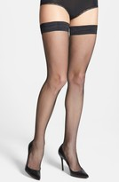 Oroblu Women's 'Bas Tricot' Fishnet Stay-Up Stockings