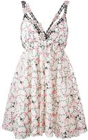 Giamba floral print pleated dress