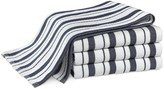 Williams-Sonoma Williams Sonoma Classic Striped Towels, Set of 4, Navy
