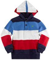Chaps Boys 4-7 Striped Hoodie