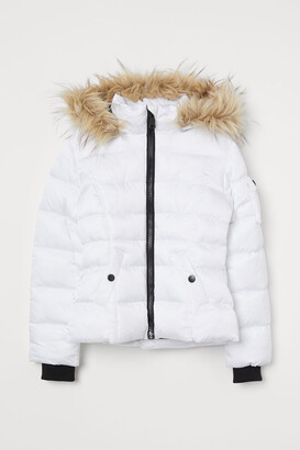 H&M Puffer Jacket - White