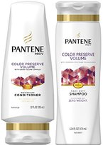 Pantene Color Preserve Volume, DUO Set Shampoo 12.6 Ounce + Conditioner 12 Ounce, 1 Each