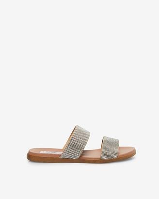 Express Steve Madden Rhinestone Dual Sandals