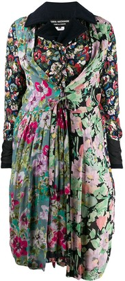 Junya Watanabe Pleated Floral Coat