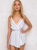 Tessellate Striped Playsuit