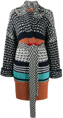 Missoni Belted Knit Coat