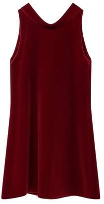 Oscar de la Renta Kids Velvet Dress
