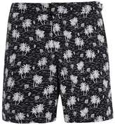 Topman LTD Maui Resort Fixed Palm Print Swimshorts