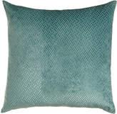 Horchow Azure Maze Pillow