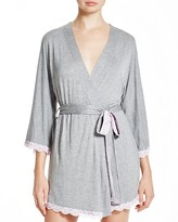 Honeydew All American Lace Trim Robe