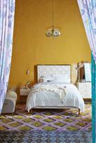 Anthropologie Brass Rondure Bed