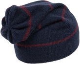 Portolano Cashmere Stripe Jersey Beanie (For Men)
