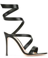 Gianvito Rossi Opera twirl effect sandals
