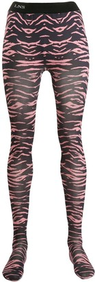 Laneus Tiger-Print Leggings
