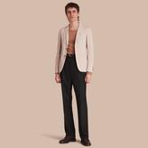Burberry Slim Fit Stretch-cotton Blazer
