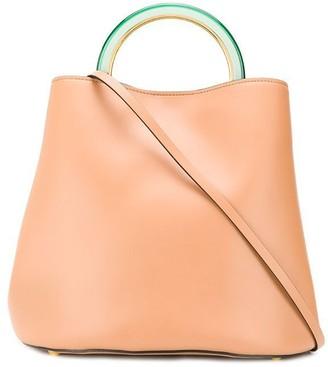 Marni top handle bucket bag