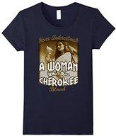 Cherokee Women's Never Underestimate A Women With Blood T Shirt Medium