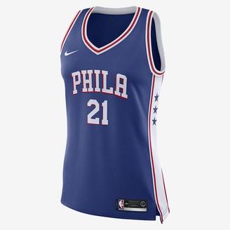 Nike Women's NBA Swingman Jersey Joel Embiid 76ers Icon Edition