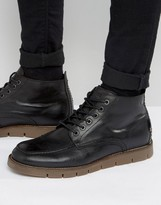 Jack and Jones Kingston Warm Lining Leather Boots