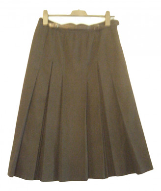 Hermã ̈S HermAs Black Wool Skirts