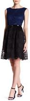 Ellen Tracy Sleeveless Lace Dress