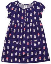 Carter's Cap-Sleeve Twill Pocket Dress