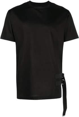 Les Hommes side buckle T-shirt